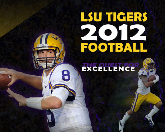 Free Wallpaper: 2012 LSU Football