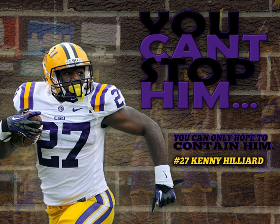 Free Wallpaper: Can't Stop Kenny Hilliard